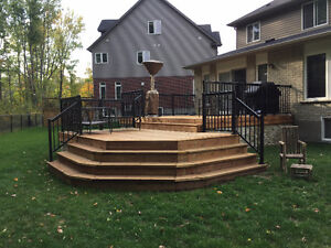 Great decks and fences