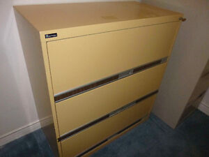 Lateral filing cabinet - three draws
