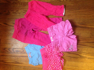 Huge baby girl lot, clothes !