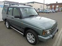 2004 04 LANDROVER DISCOVERY 2.5 TD5 ES PREMIUM AUTOMATIC 7 SEATER