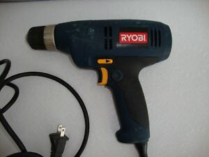 RYOBI 3/8 Electric Drill Kawartha Lakes Peterborough Area image 3