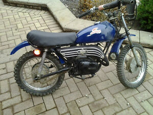 Yamaha  gt 80 mx80 running with title