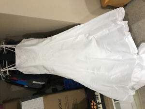 Size 20 wedding gown