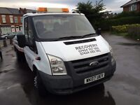 24/7Recovery services collection delivery