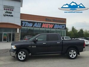 2014 Ram 1500 SLT  ACCIDENT FREE, LOCAL TRADE, BLUETOOTH/USB/AUX