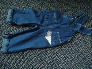 Boys Size 12 Months Patchwork Lightweight Jean Overalls Kingston Kingston Area image 3