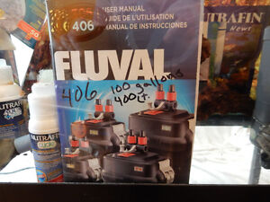 Fuval 406 canister filter for aquarium up to 100 US gallons