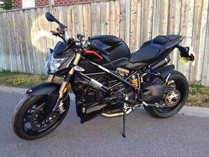 Mint Condition Ducati Streetfighter 848