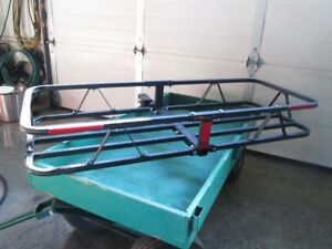 Carrier for trailer hitch