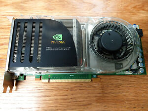 Nvidia Quadro FX4600 768MB pro video card