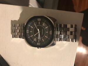 Mend black diesel watch
