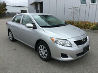 2009 TOYOTA COROLLA CE AUTOMATIC ALL POWER OPTIONS 91KM