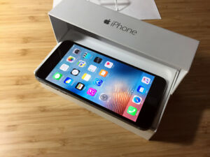 FACTORY UNLOCKED Space Grey 16GB iPhone 6+ (A Condition)