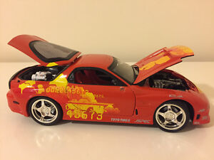 FAST AND FURIOUS 1994 MAZDA RX-7