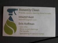 Honestly Clean Housecleaning services