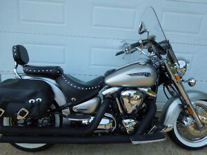 2003 YAMAHA ROAD STAR 1600 SILVER EDITION
