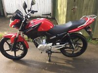 Yamaha ybr 125. 11 months old. Immaculate condition