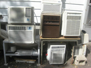 **CLEARANCE**GOOD WORKING AIR CONDITIONERS FROM ***$30 to $80***