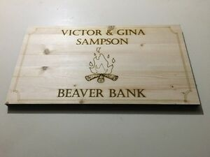 Personalized signs and plaques