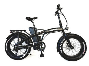 "THUNDER 20"" FAT TIRE FOLDING E-BIKE"