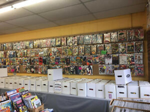 AARDVARK COMICS BURLINGTON ,  YOUR BACK ISSUE SPECIALISTS