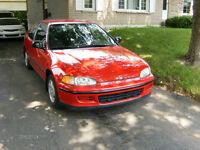1994 Honda Civic Coupé (2 portes)