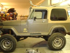 Off Road Air Ride 4x4 Jeep