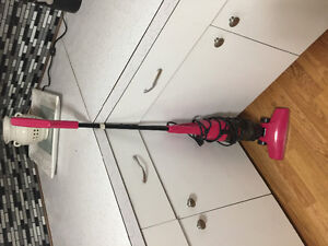 Hand held (with attachable wand) vacuum