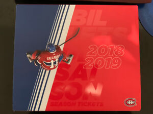 Canadiens Season Tickets @ Face Value - Centre Ice Whites