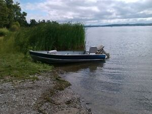 For sale 12 foot aluminum boat-NEW PRICE