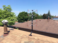OTA HD TV Antenna installation service in Peel