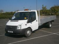 2012 12 FORD TRANSIT 350 2.2TDCi 125PS 13.6ft PICK UP TRUCK FLATBED DROPSIDE