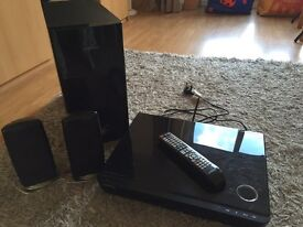 Samsung Blue Ray DVD Player with 2.1 speakers