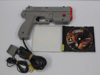 Time Crisis with Guncon for Playstation PSX