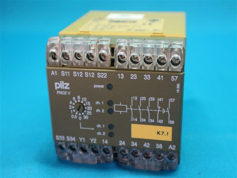 Pilz PNOZ V PNOZ V 30S 24VDC Emergency Stop Relay