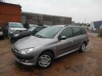 PEUGEOT 206 XT SW 1.4 PETROL ESTATE LOW MILAGE