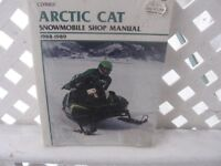 snowmobile shop manuel  artic cat 1988-89