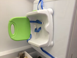 High chair/booster chair portable fisher price