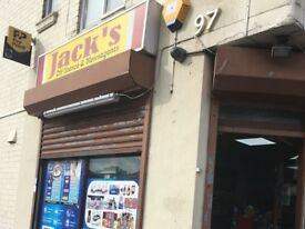 JACK'S OFF LICENCE FOR QUICK SALE , REF: RB244