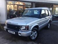 2003 (53) Land Rover Discovery 2.5Td5 S 7 Seater, READY TO GO !!