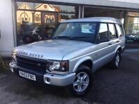 2003 (53) Land Rover Discovery 2.5Td5 S 7 Seater (No Sunroofs To Leak)