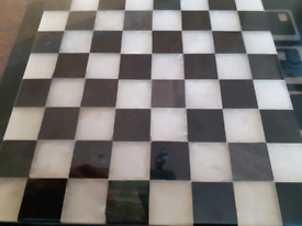 Marble chess board 20cm
