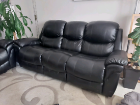 Recliner 3 seater and 2 seater sofas