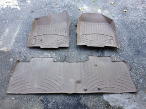 Weather Tech Floor Mats for FORD EDGE