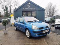Renault Clio 1.4 16V DYNAMIQUE (blue) 2004
