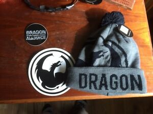 Brand new Dragon toque and stickers