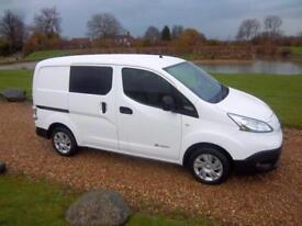 2015 / 65 Nissan eNV200 E Acenta Rapid Plus 5 SEAT CREW VAN