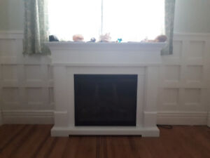 Beautiful Gas Fireplace - Barely Used!