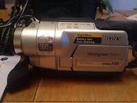 Sony Hi8 Handycam Video Camera