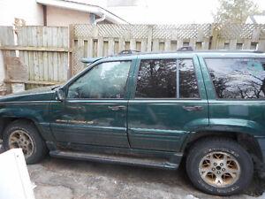 1996 Jeep Grand Cherokee SUV, Crossover 4 x 4 Kitchener / Waterloo Kitchener Area image 2